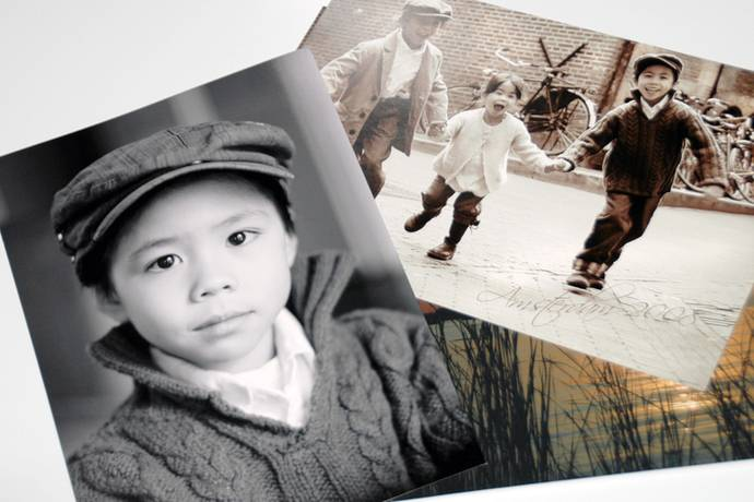 Foto vergroting zwart wit en kleur